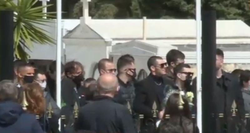 Θρήνος στην κηδεία του 23χρονου Ιάσονα που σκοτώθηκε στο τροχαίο στην Βουλή[video]