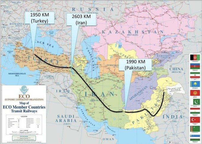 Σιδηρόδρομος Τουρκία Πακιστάν