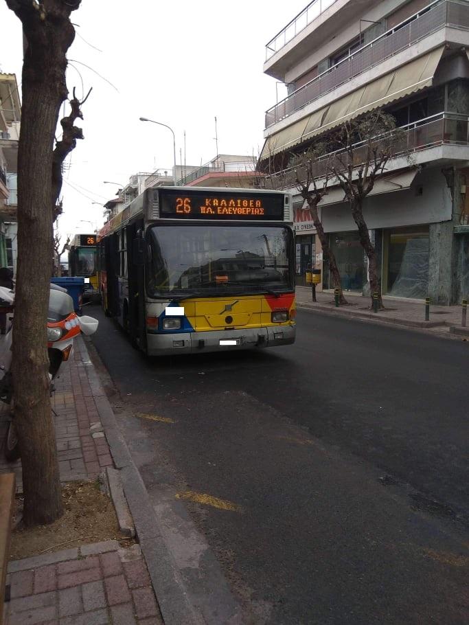 Θεσσαλονίκη: Οδηγός του ΟΑΣΘ βρήκε παππού που είχε εξαφανισθεί!