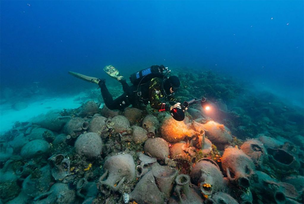 υποβρύχιο μουσείο δύτης