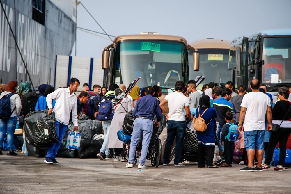 μετανάστες πούλμαν