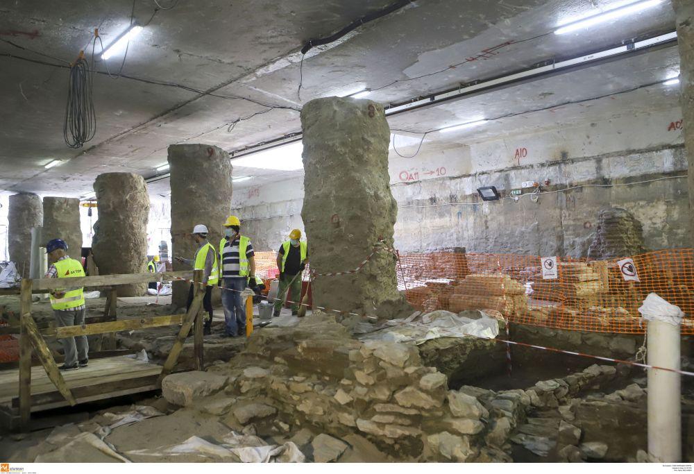 Θεσσαλονίκη μετρό αρχαία